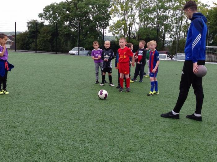 Wednesday - Football club for P4 and P5 children