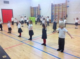 Primary 1 Love Highland Dance