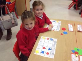 Busy little bees in Primary One