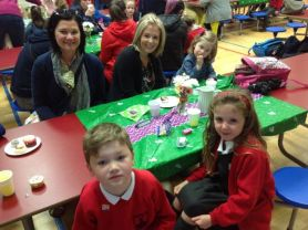 Lisnagelvin PS support Macmillan