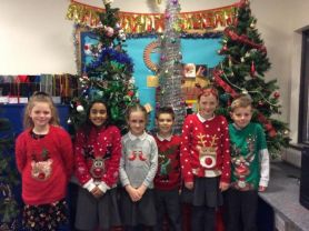 Primary 5 Getting Festive.