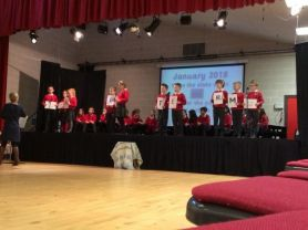 P4M Class Assembly Happy New Year