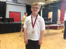 P4-P7 Sports Day Medal Presentation