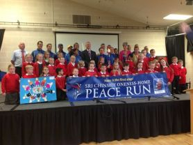 Visit from Oneness Peace Runners