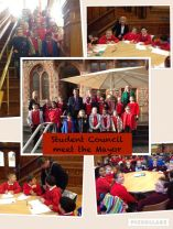 Student Council meet the Mayor