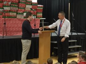Operation Christmas Child....Lisnagelvin sends 79 shoeboxes to Albania