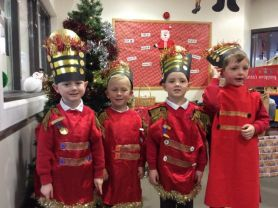 P1 present 'The First Nativity'