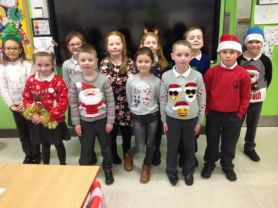 P4 get ready for Christmas with Christmas jumpers