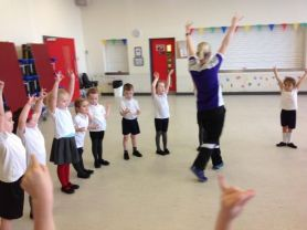 P1 love Highland Dancing