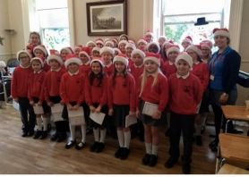 Choir Brings Christmas Cheer to Deanfield Care Home