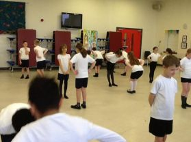 Highland Fling for Primary Five